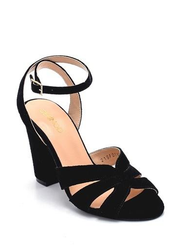 Derimod Kadın Sandalet(1401-105) Casual Siyah